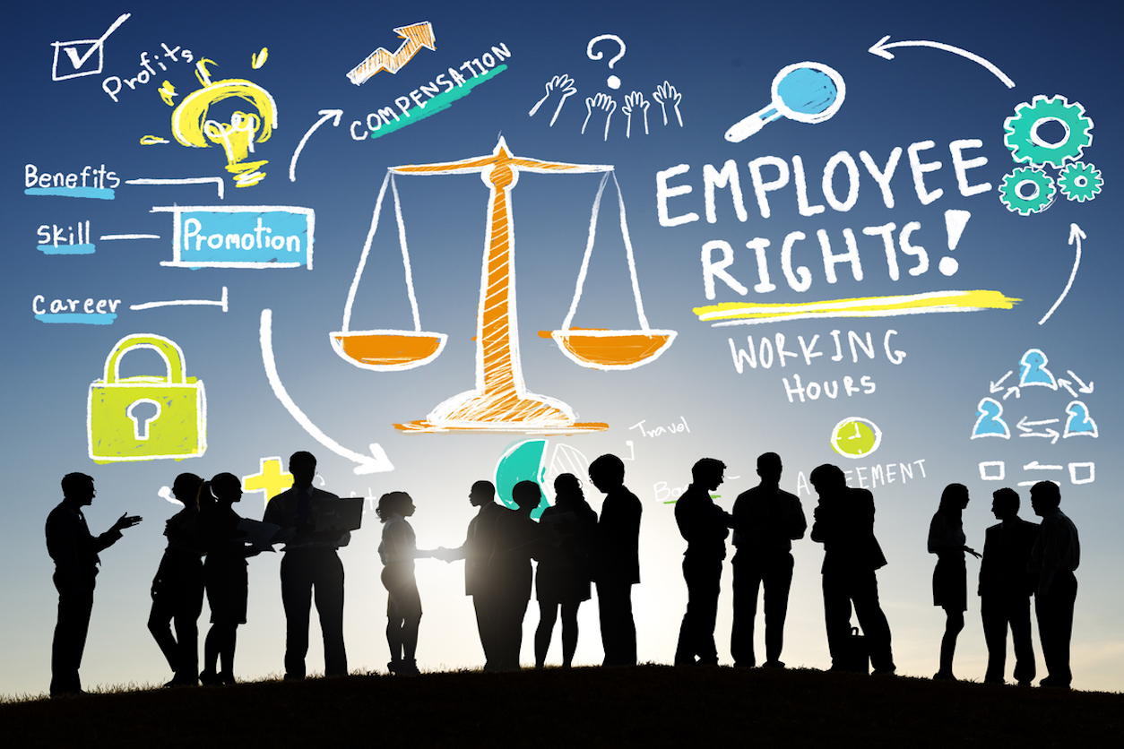 Employee Rights Graphic